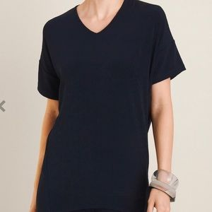 CHICO'S  NEW WITH TAGS DRAMA TOP SIZE 4(XXL)